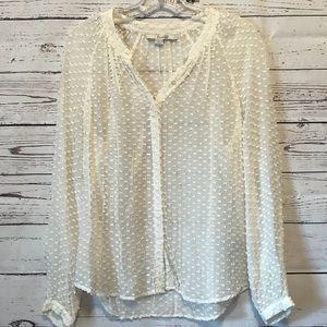 Boden Textured Silk Shirt